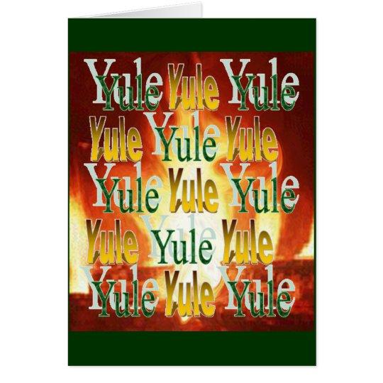 Yule Warmth Card