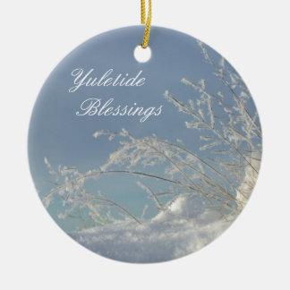 Yuletide Blessings Ornament