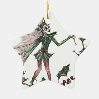 Yuletide Fairy Gifts for the Holiday Christmas Ornament