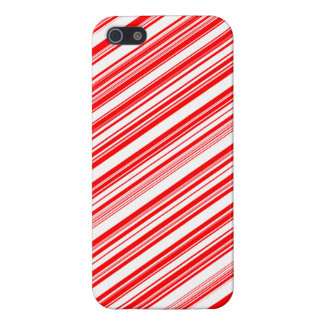 Yuletide Festive Candy Cane iPhone 5 Cases
