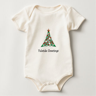Yuletide Greetings Baby Bodysuit