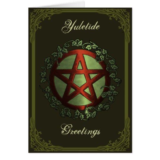 Yuletide Greetings Card