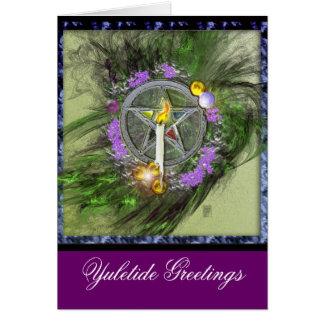 Yuletide Greetings Greeting Card