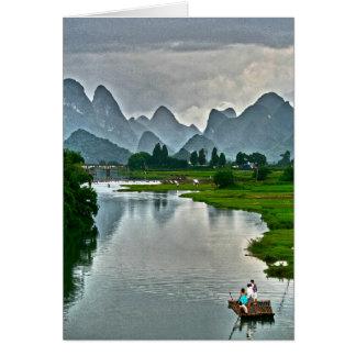 Yulong River, Yangshuo Card
