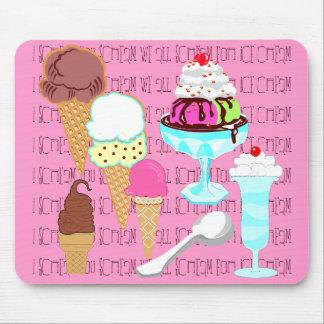 Yum-a-licious Ice Cream Mousepad