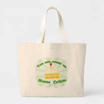 Yum Count on Monte Cristo Large Tote Bag