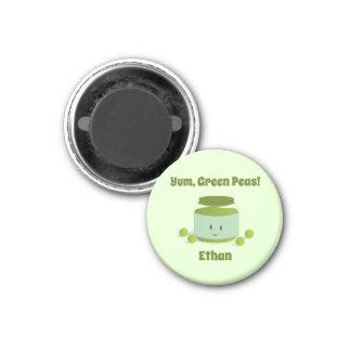 Yum Green Peas   Magnet
