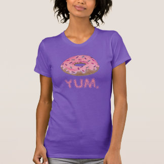 YUM Pink Frosted Donut Doughnut w/ Sprinkles Tee