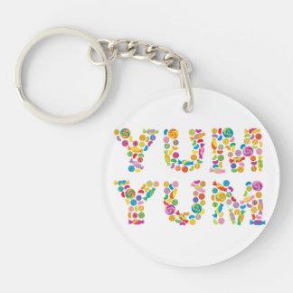 Yum Yum Candy Sweets Key Ring