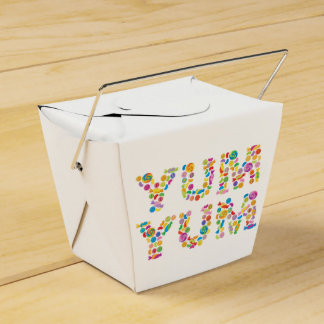 Yum Yum Candy Sweets Wedding Favour Box