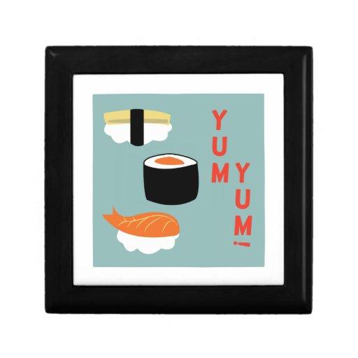 Yum Yum Sushi Trinket Boxes