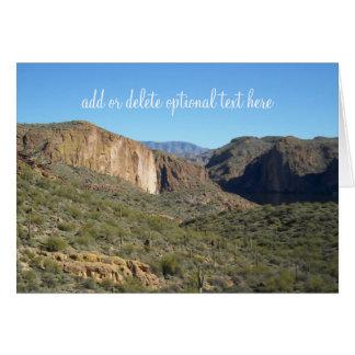 Yuma, Arizona Mountains and Sky Cards