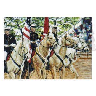 Yuma Color Guard equine card