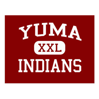 Yuma - Indians - Yuma High School - Yuma Colorado Post Cards