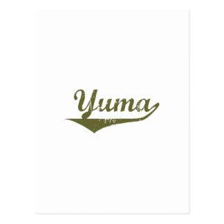 Yuma  Revolution t shirts Postcard