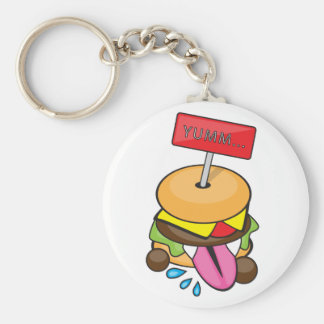 Yumm Burger Keychain
