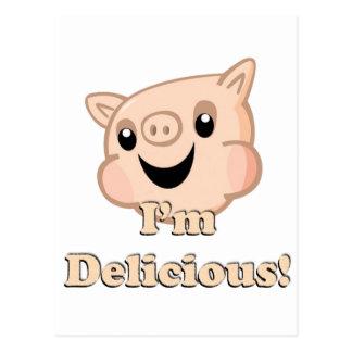 Yummy Bacon Postcard