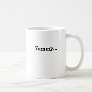yummy basic white mug