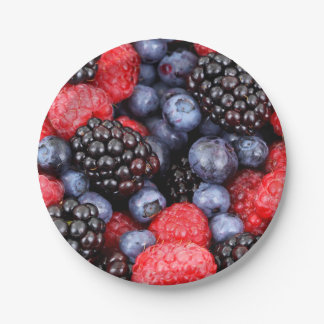 Yummy Berries of all Sort Party Paper Plates