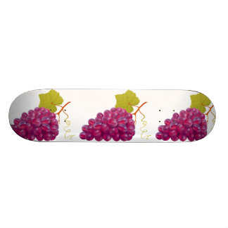 Yummy Bunch Of Red Grapes 21.6 Cm Old School Skateboard Deck