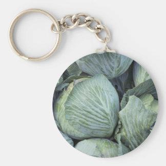 Yummy Cabbage Keychain