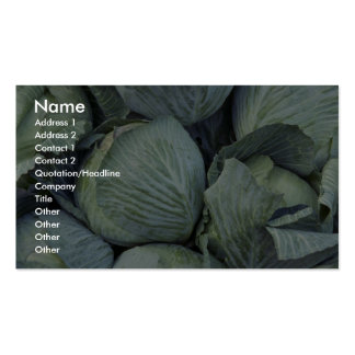 Yummy Cabbage Pack Of Standard Business Cards