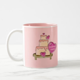 Yummy Cake Business Card Mug