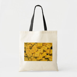 Yummy Cheese crackers Canvas Bags