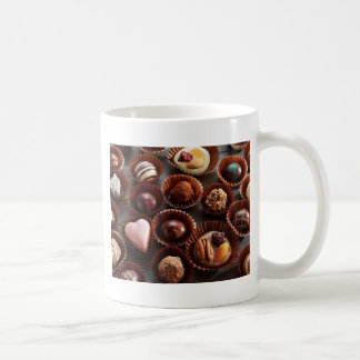 Yummy Choc Design Basic White Mug