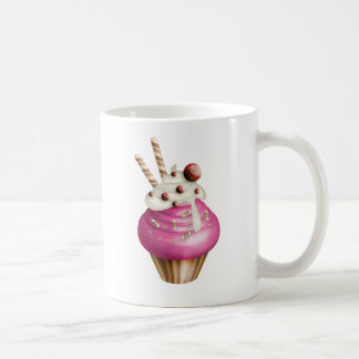 Yummy cupcake basic white mug