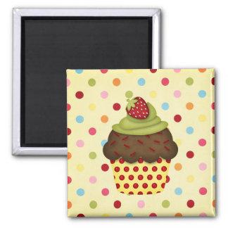 yummy cupcake magnet