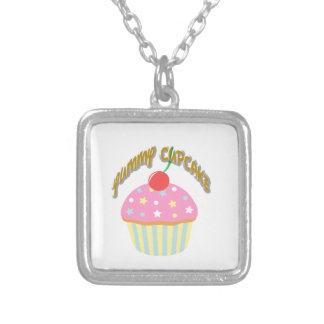 Yummy Cupcake Personalized Necklace