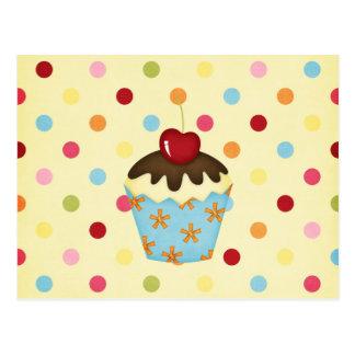 yummy cupcake postcards