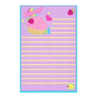 Yummy Cupcake Stationery