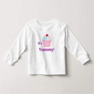 Yummy Cupcake Toddler Longsleeve Toddler T-Shirt