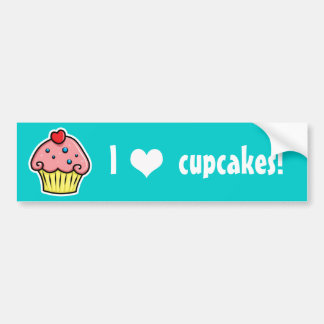 Yummy Cupcakes Bumper Sticker