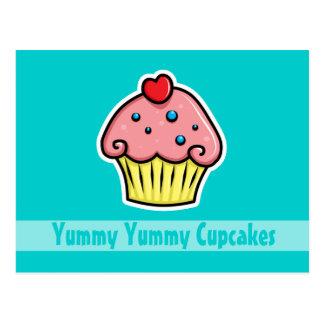 Yummy Cupcakes Postcard