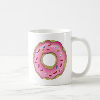 Yummy Donut with Icing and Sprinkles Mug