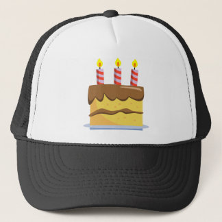 Yummy Food - Birthday Cake Trucker Hat