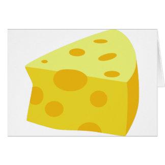 Yummy Food - Cheese Greeting Card