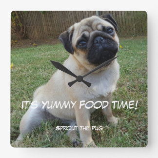 Yummy Food Time Wall Clock