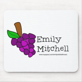 Yummy Grapes Grow in Vineyards Mouse Pad