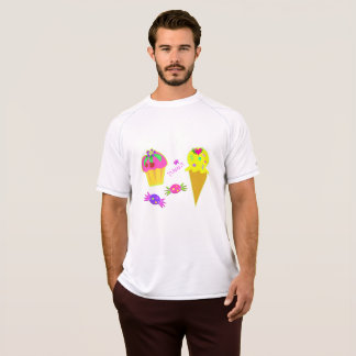Yummy Ice Cream Mens Active Tee