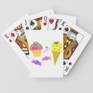 Yummy Ice Cream Playing Cards