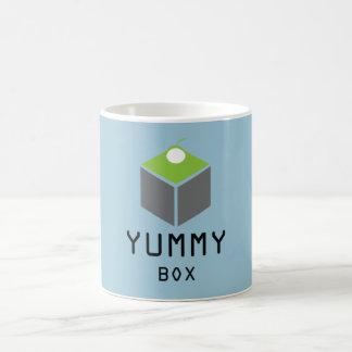 """Yummy Is Funny"" Classic White Coffee Mug"