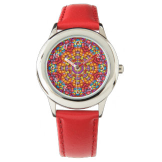 Yummy Kaleidoscope  Vintage Kids Watch