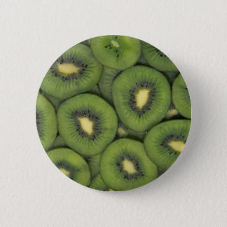 Yummy Kiwi fruit 6 Cm Round Badge