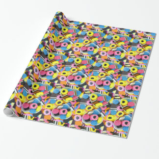 Yummy Liquorice Sweets Allsorts of colours candy Wrapping Paper
