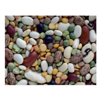 Yummy Mixed beans Postcard