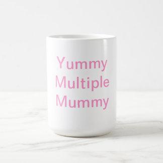 Yummy Multiple Mummy Basic White Mug